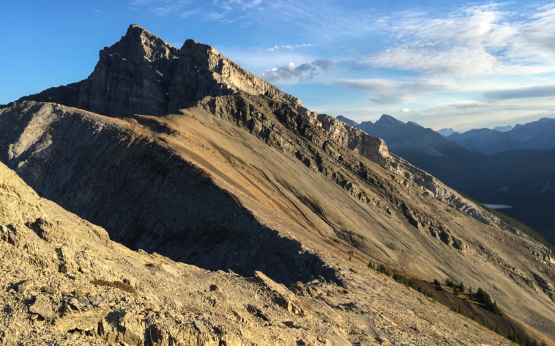 I think the highest peak in this photo is Lawrence Grassi. I still need to conquer that one!