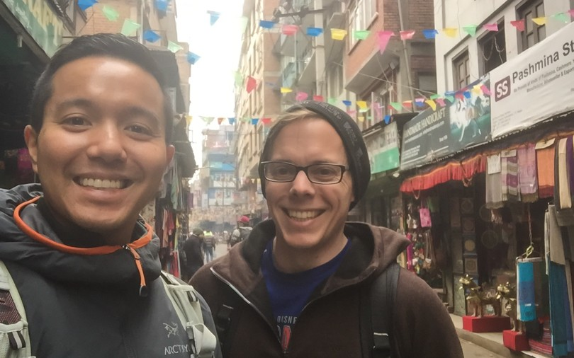 Our last day in Kathmandu. It's been quite the adventure!
