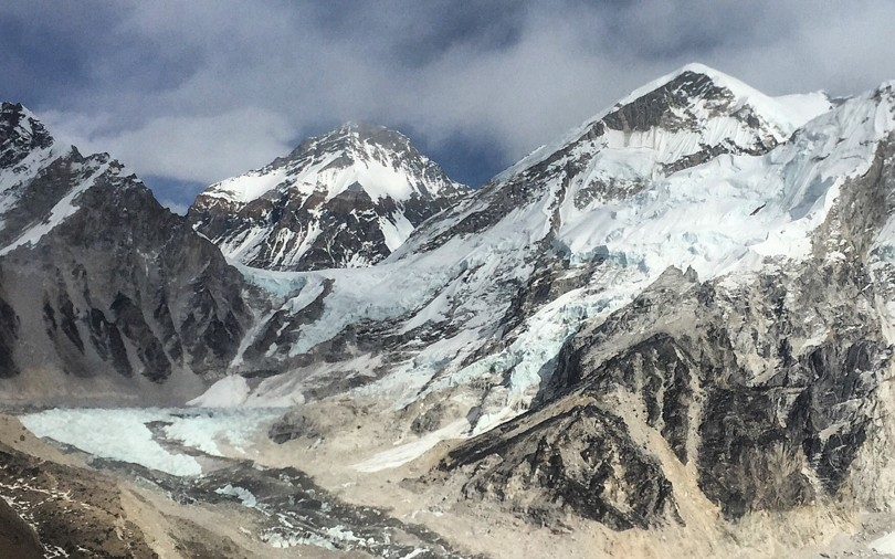 A quick detour to see Everest Base Camp. It was spectacular.