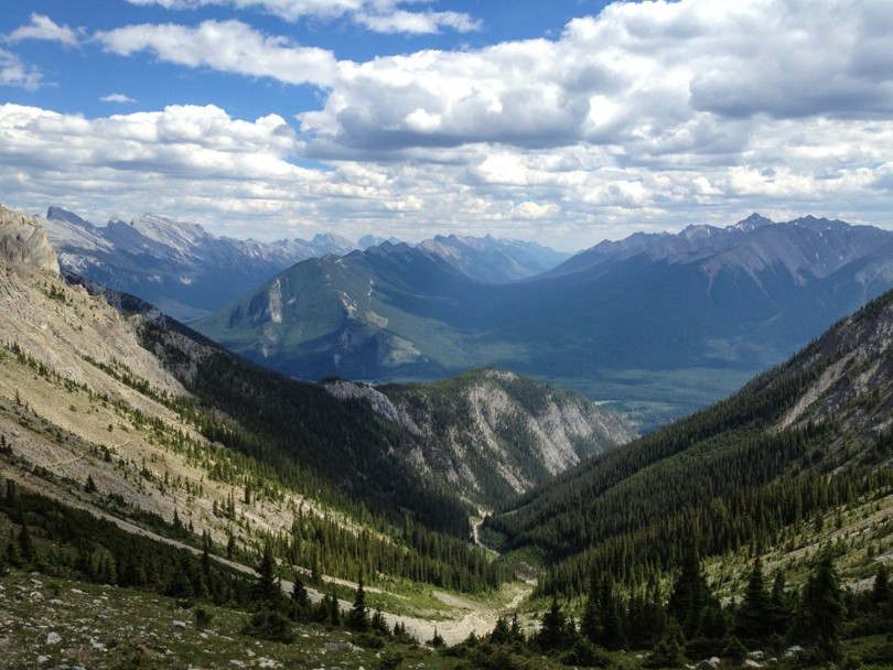 South view from Cory Pass