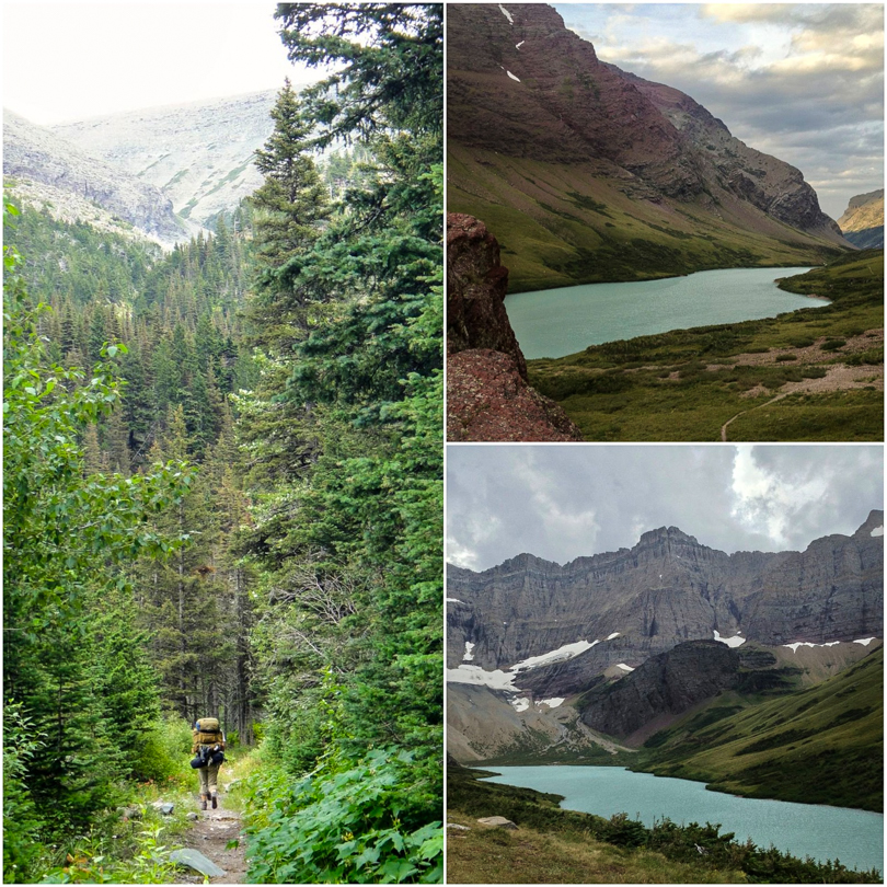 Hiking to Cracker Lake