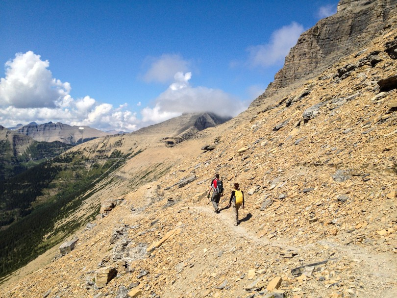 Walking along the Continental Divide