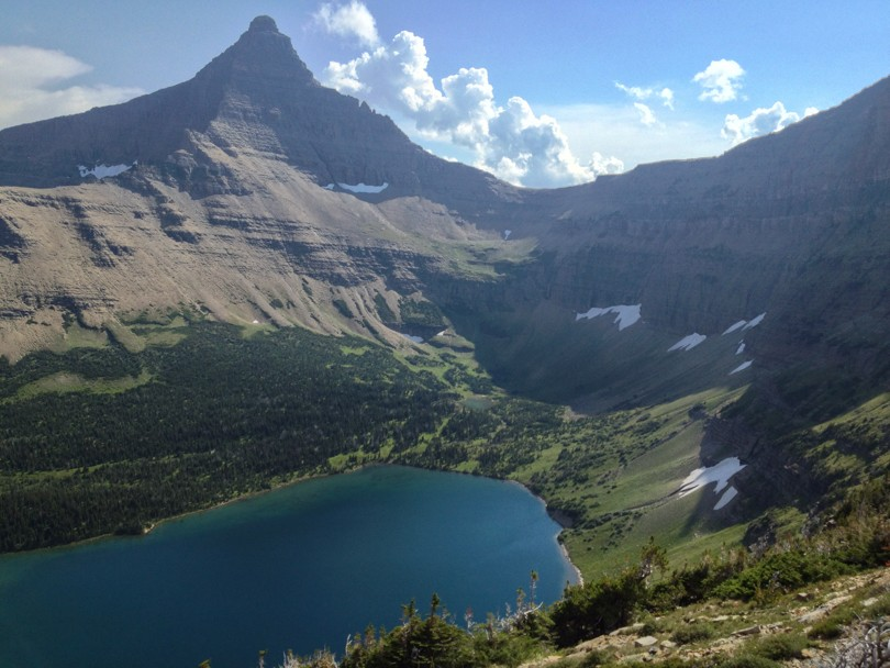 Old Man Lake and Flinch Peak