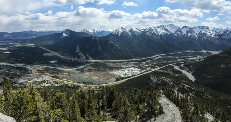 Gorgeous view of the Bow Valley