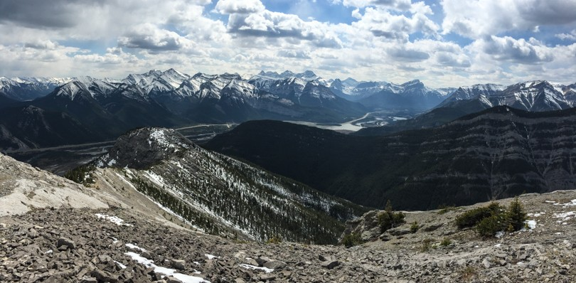 View of the Bow Valley from Door Jamb