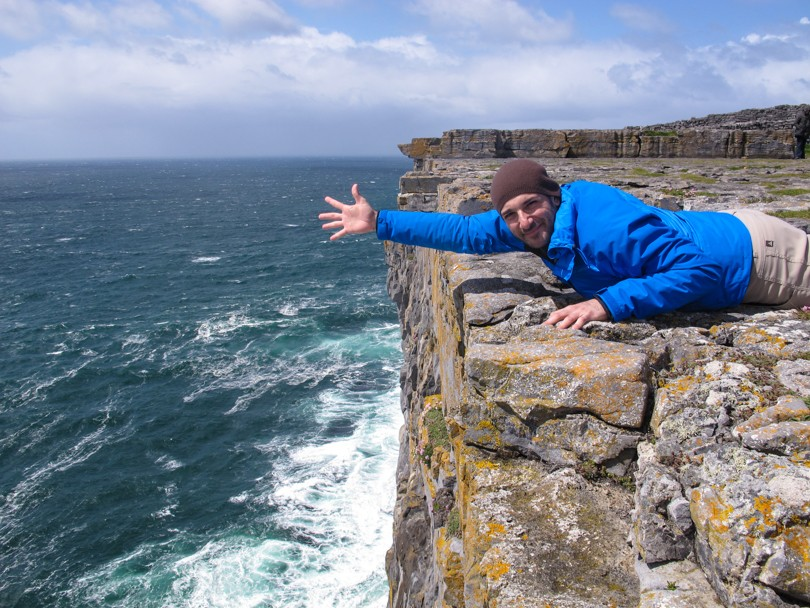 Very close to the edge!