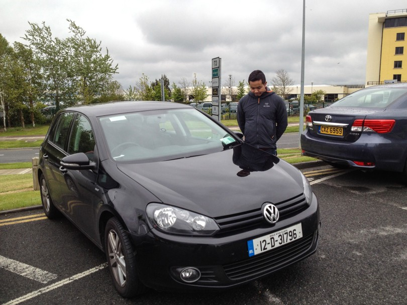 Saying goodbye to our VW :(