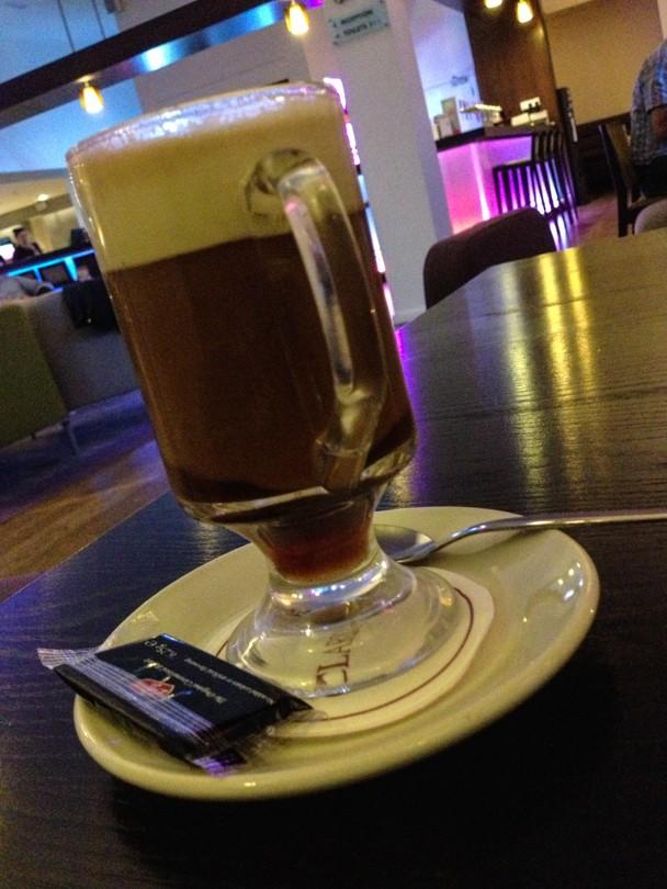 Irish Coffee: Coffee and Whiskey