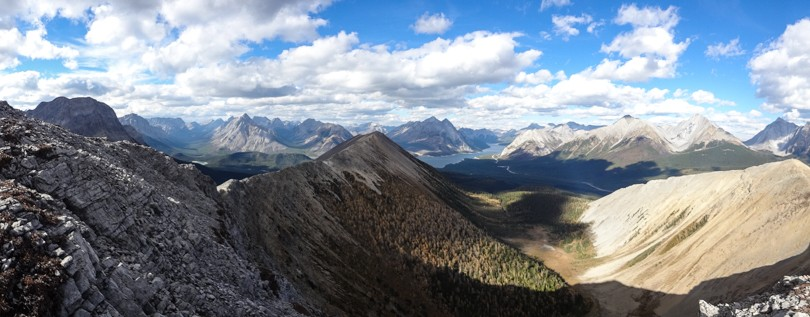 Panoramic of the Tent Ridge Horseshoe