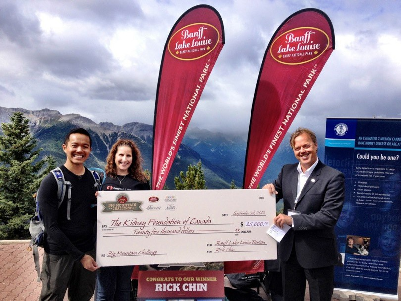 After a wonderful 7 days of hiking, $25,000 goes to The Kidney Foundation of Canada!