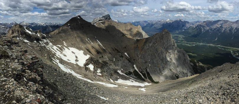Looking west from the summit of EEOR