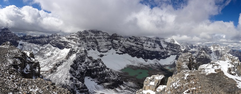 Panoramic from the summit