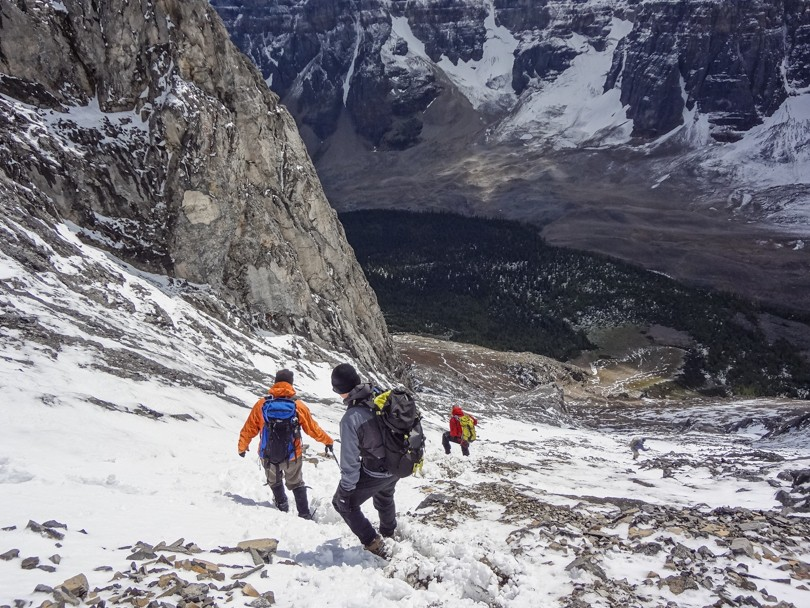Making the long and slippery descent