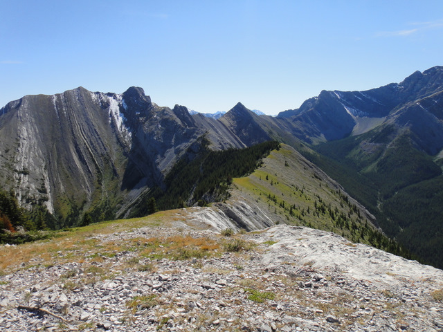 View from the higher (second) summit