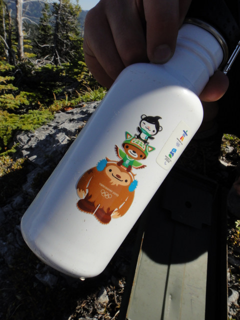 2010 Winter Olympics water bottle