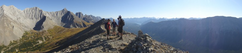 Panoramic from the summit. Incredible!