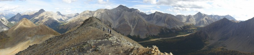 Panoramic #2 from the first peak