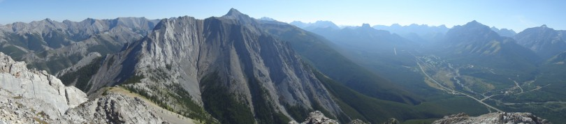 Panoramic from the summit #1