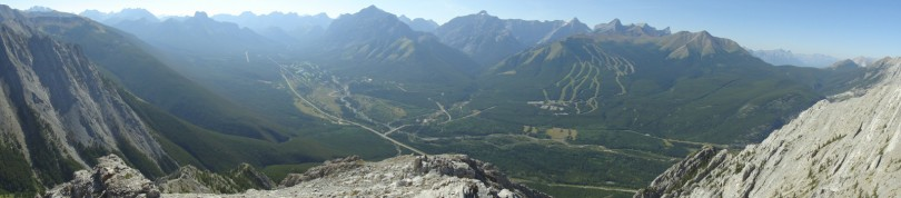 Panoramic from the summit #2