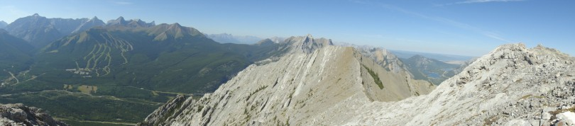 Panoramic from the summit #3