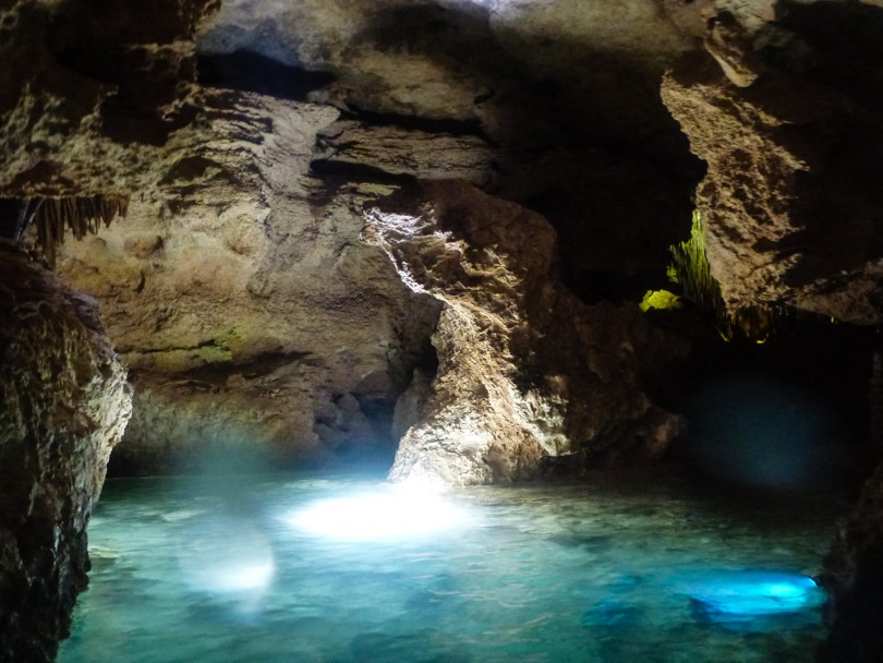 It's pretty cool to explore the caves and rock formations in the underground river