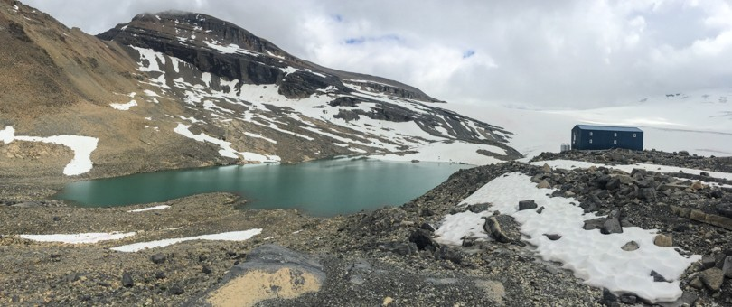 The Peyto Hut (2500 m): our home for 2 nights