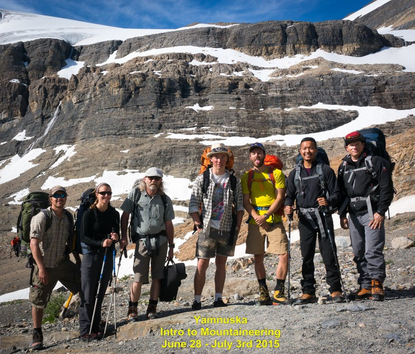 What a great bunch of alpinists :) (Photo: DF)