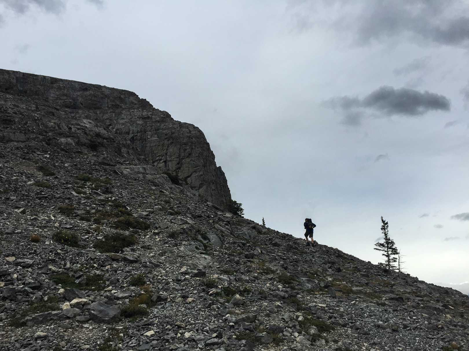 It's a rocky ascent for most of the hike