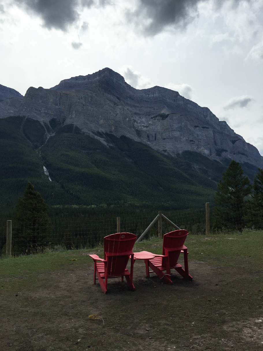 A rest spot with not a bad view :)