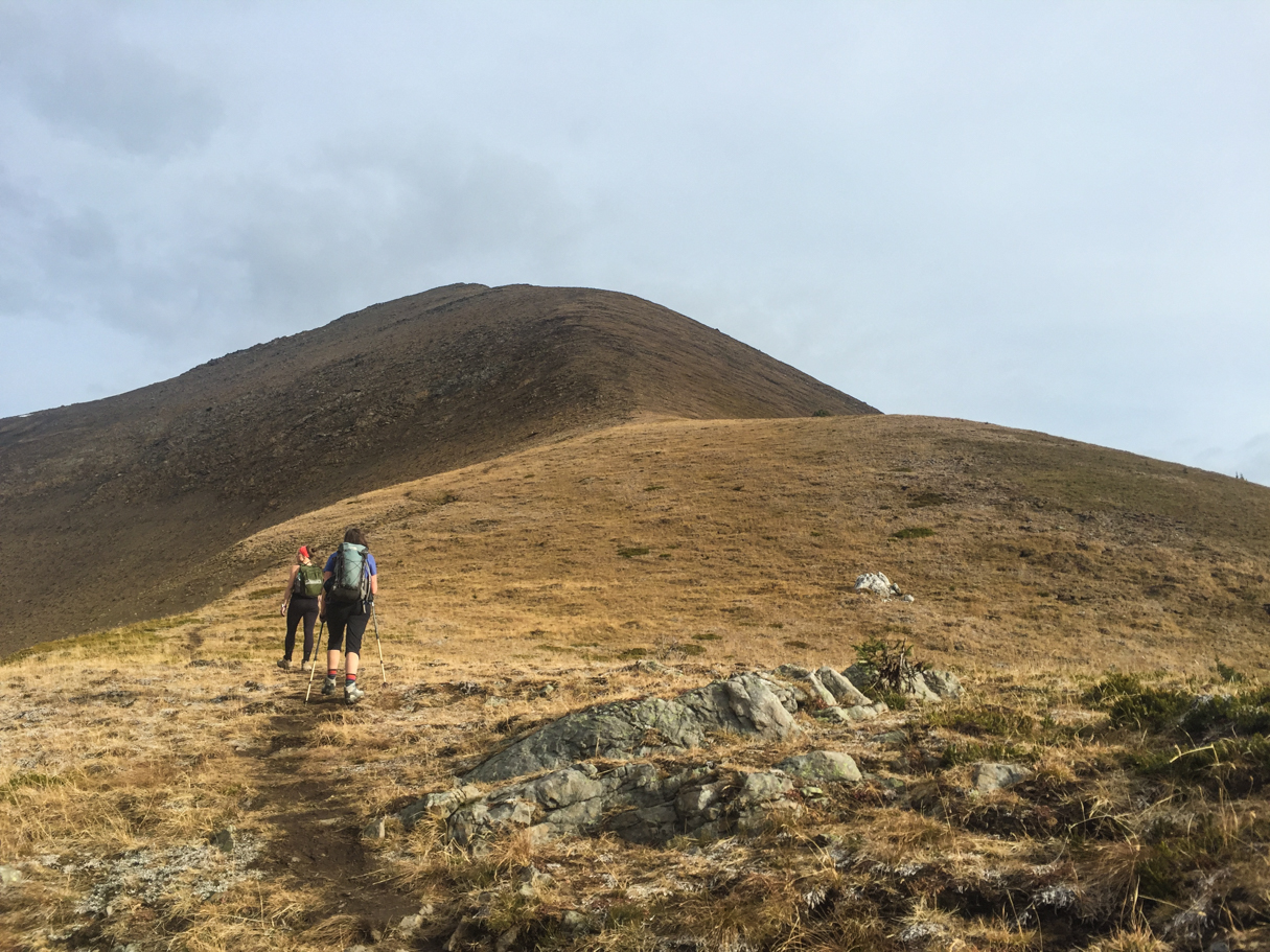 It's a gorgeous ascent to the first peak