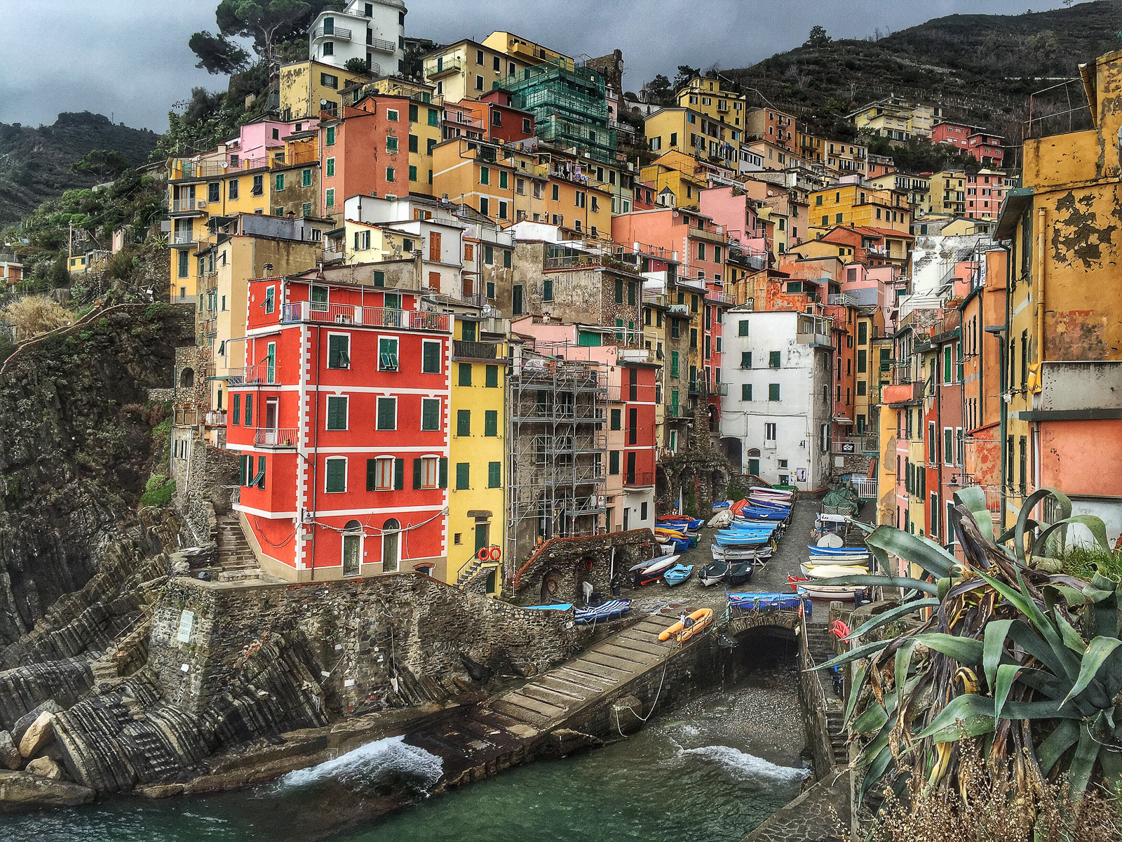Riomaggiore. I've always wanted to visit Cinque Terre.