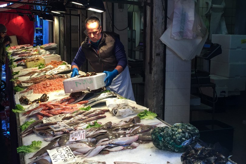 Fish at the Rialto Market