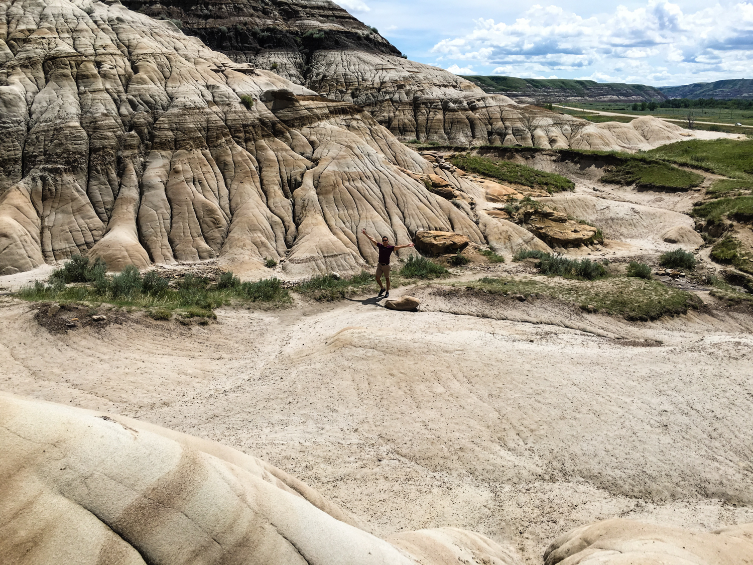 The area around the Hoodoos Trail is super cool