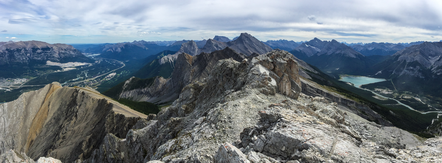 Panoramic view from the summit